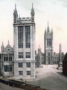 Marischal College, Aberdeen, Scotland