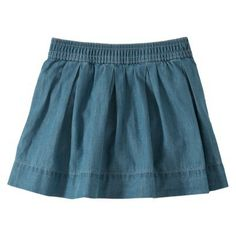 Burts Bees Baby™ Toddler Girls' Skort - Chambray
