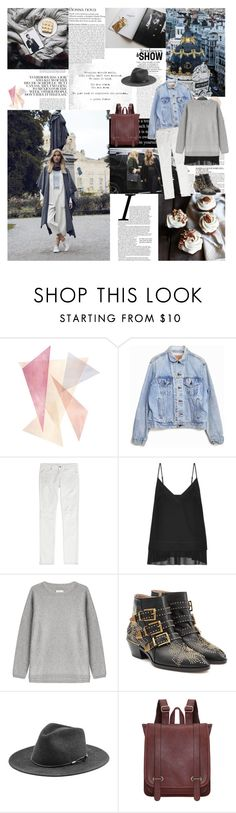 """""""The truth is you don't know what is going to happen tomorrow. Life is a crazy ride, and nothing is guaranteed... by Eminem"""" by valentina-back ❤ liked on Polyvore featuring McGinn, Joie, Levi's, IRO, By Malene Birger, Vince, Chloé, rag & bone, women's clothing and women's fashion"""