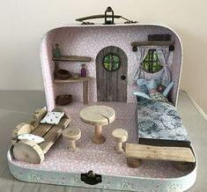 Valisette maison de la petite souris