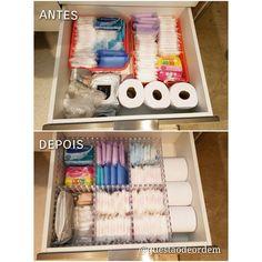 Small Bathroom Organization, Bathroom Organisation, Bathroom Storage, Cute Room Decor, Room Decor Bedroom, Diy Storage, Storage Organization, Period Kit, Bathroom Drawers