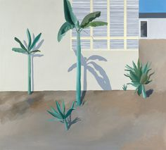 David Hockney | Hollywood Garden [1966] - Hamburger Kunsthalle