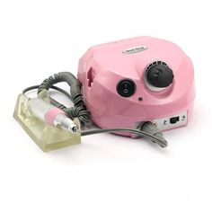 SainStyle SS202 Pink Pro Electric Nail Art Drill File Bits Machine Manicure Kit 30000 RPM  //Price: $ & FREE Shipping //     #hair #curles #style #haircare #shampoo #makeup #elixir
