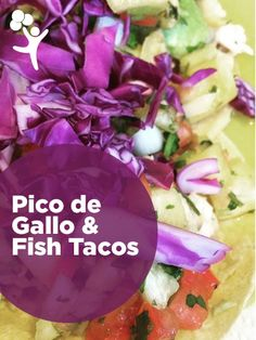 What's for dinner tonight? Healthy, kid-approved fish taco recipe.