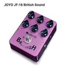 (39.99$)  Watch more here - http://aimu2.worlditems.win/all/product.php?id=1711794693 - JOYO JF-16 British Sound Guitar Pedal Marshall-amp-simulating 6 Knobs/LED Power Indicator distortion True bypass Free Shipping