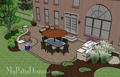 Relaxing Backyard Patio | Patio Designs and Ideas