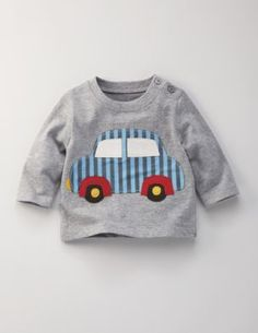 Mini Boden Fun Appliqué T-shirt