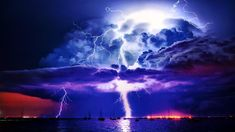 Lightning Storm Wallpapers Free For Desktop Background 1920x1080 px 128.11 KB