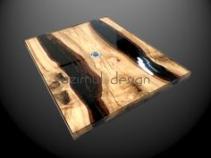 Resin Table, Hobby, New Homes, Tables, Interior Design, Wood, Home, Resin, Design Interiors