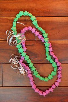 Jolly rachers gifts pinterest candy bouquet leis for Diy lucky stars