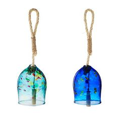 Look what I found at UncommonGoods: Glass Garden Bells for $70.00