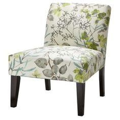 Avington Upholstered Slipper Chair - Gazebo Cloud Floral