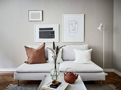 47 Scandinavian Decor Room To Copy Right Now - Home Decoration Experts My Living Room, Home And Living, Living Room Decor, Living Room Warm Colors, Clean Living, Dining Room, Warm Home Decor, Style Deco, Minimal Home