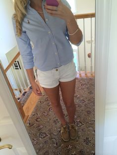 Polo button down shirt outfit