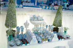 Detalhe Festa Frozen da Gabriela