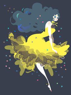 かぐや姫の恋人   トコ [pixiv] http://www.pixiv.net/member_illust.php?mode=medium_id=17772216    luna girl