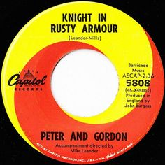 Knight In Rusty Armour - Peter And Gordon (1967)