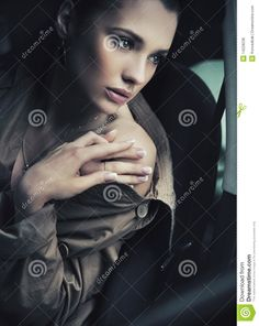 Young lady posing stock photo. Image of attractive, hand - 14228236