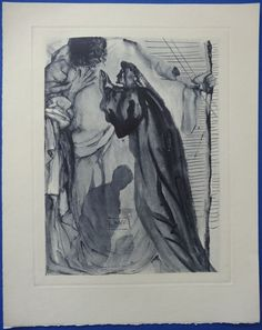 Salvador Dalí - Un esprit interroge Dante - Catawiki