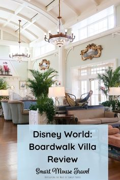 Disney's Boardwalk Villas 1 bedroom villa is a spacious and comfortable place to stay within walking distance to two Disney World parks. #disneyworld #disneyplanning #boardwalkvillas #disneyresorts Best Disney Restaurants, Best Resorts, Disney World Resorts, Disney Vacations, Disney World Florida, Disney World Parks, Disney Vacation Planning, Disney World Planning, Hotels For Kids