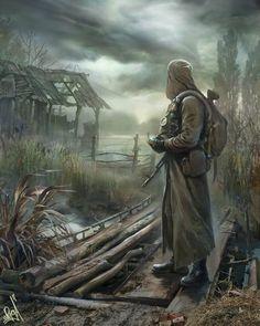 Stalker leaves the swamp ... by Bobrbor on DeviantArt