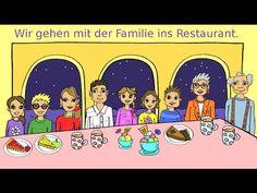Ein einfaches Video für Kinder und Anfänger, um Vokabular und erste Sätze zum…