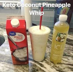 Looking for simple and tasty keto (very low-carb) recipes? Youve come to the right place. We have an arsenal of marvelous recipes to browse Low Carb Drinks, Low Carb Desserts, Low Carb Recipes, Best Low Carb Snacks, Smoothies, Smoothie Drinks, Keto Smoothie Recipes, Pineapple Whip, Pineapple Coconut