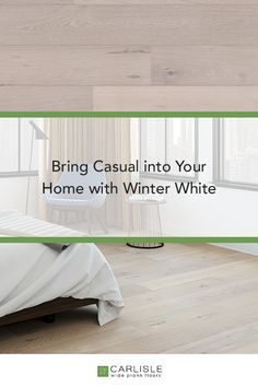 The white tones of Carlisle's Winter White from the Casual Collections creates a cooler more modern back drop for your interior, while the brushing contributes a clear sense of classic age and handmade quality. #WhiteOak #oakflooring #interiordesign Oak Flooring, Wide Plank Flooring, Winter Light, Winter White, White Oak Floors, Diffused Light, Brushing, Carlisle, My Dream Home