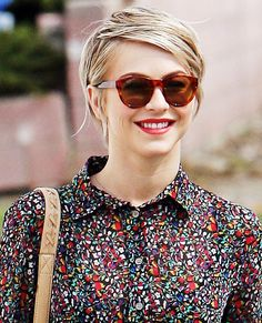 The Cutest Pixies, Crops and More Short Hairstyles - Julianne Hough from #InStyle