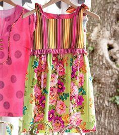 girl's zest dress