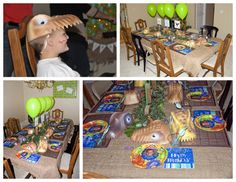 Printable Dinosaur Party Package