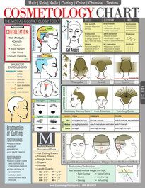 Quick Reference Cosmetology Chart, Detail step by step procedures, techniques, and applications. Hair Cutting, Hair Color, Perms, Relaxers.
