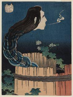 Springtime in Enoshima Hokusai 9x6 Inch Print Japan