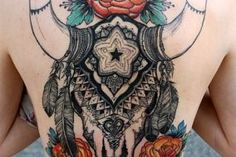 1000 images about tattoos on pinterest ship tattoos for Traditional bison tattoo