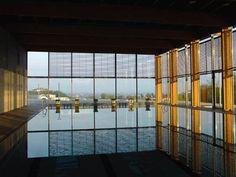 DONE: Kraví Hora,  Brno, Czech Republic Swimming Pools, Divider, The Originals, Czech Republic, Athletics, Building, Room, Pictures, Furniture