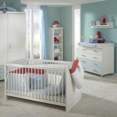 In Dem Starterset Enthalten Ist: Ein Babybett, Eine Kommode Mit 4  Schubladen Und Ein