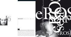 oscar reinstein página do meu trabalho na revista gráfica, do designer oswaldo miranda, o miran . edição #61