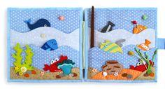 """Развивающая книжка """"В океане"""" от пользователя «id1334599» на Babyblog.ru"""