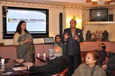 NRI Legal Services Seminar Picture