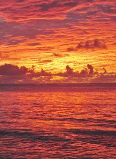 Amazing Barbados Sunset
