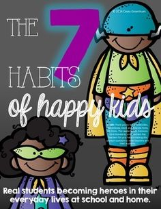 The 7 Habits of Happy Kids (Superhero)