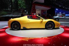 Mondlial de l'automobile 2014 Paris - Ferrari 458 Speciale A