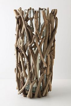 DIY this anthro driftwood hurricane