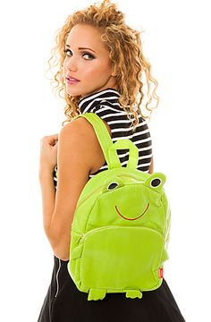 The Frog Backpack by *MKL Accessories