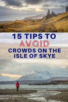 The Isle of Skye in Scotland is amazingly scenic but it can get very crowded, especially in the summer. We share 15 tips to help travelers avoid crowds on the Isle of Skye. Whether you are able to travel off season or need to travel during the busy summer Scotland Road Trip, Scotland Vacation, Scotland Travel, Visiting Scotland, Harry Potter Château, Outlander, Sightseeing London, Travel Advice, Travel Guide