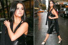 Selena Gomez Rocks Colored Contacts for the Victoria's Secret Fashion Show