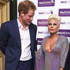 Lady Gaga and Prince Harry