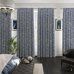 Artemis Marlin Blue Curtains Made To Measure Curtains, Blue Curtains, Artemis, Cheers, Spring, Home Decor, Room Decor, Home Interior Design, Home Decoration