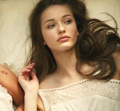 Kristina Romanova from the Avicii video -- shades of her in Avery