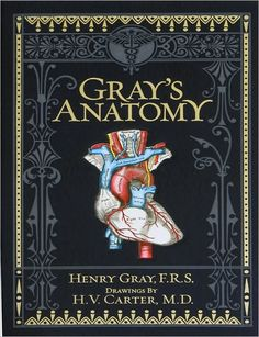 Gray's Anatomy. Print from 1901. New edition